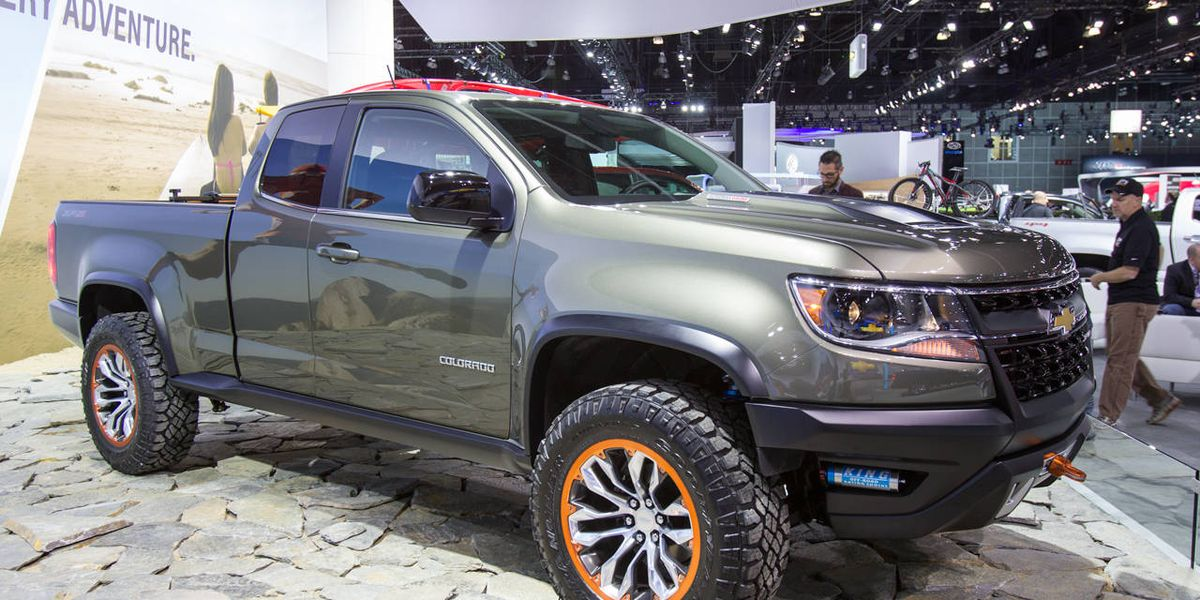 The Chevrolet Colorado ZR2 diesel concept is amazing