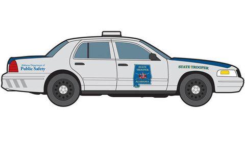 Wheel, Motor vehicle, Vehicle, Transport, Car, Police car, Full-size car, Rim, Automotive parking light, Electric blue,