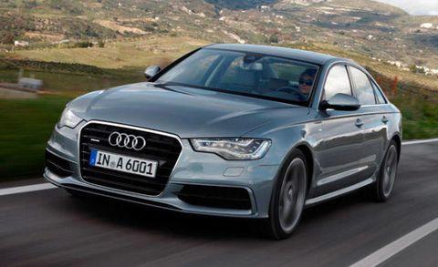 2012 Audi A6 Review Audi A6 30 Tfsi Quattro Sedan Roadandtrackcom