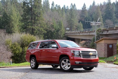 GMC and Chevrolet full-size SUVs - First Drive