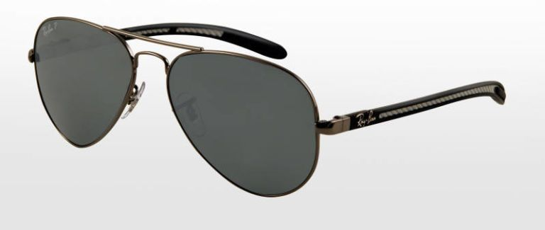 ray ban carbon fibre aviator