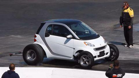 Smart ForTwo gets big-block V8, wins us over