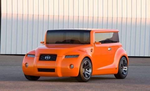 Scion Is Calling The Hako Coupe Concept Sporty Version Of A Box This Vehicle Was Clearly Inspired By S Own Xb But Officials Told Us That Tokyo