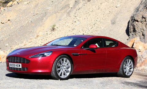 Aston Martin Rapide Review Of The New Aston Martin Rapide - Aston martin 4 door