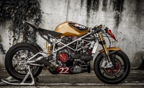 Espresso-charged bullfighter: Ducati 1199 Matador Racer