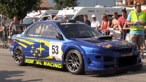 Subaru rally cars with great wastegates are better than coffee
