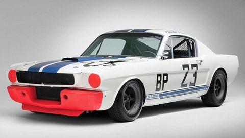 Buy this historic 1965 Shelby Mustang and some cowboy boots