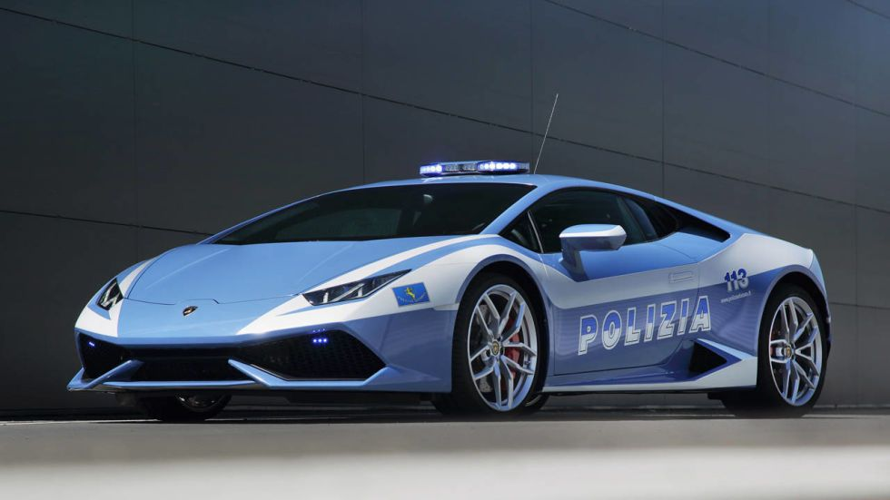 Italyu0027s Polizia Di Stato Has A Replacement For Its Lamborghini Gallardo  Interceptors. Say Hello To The Lamborghini Huracán LP 610 4 Polizia, Which  Will Go ...