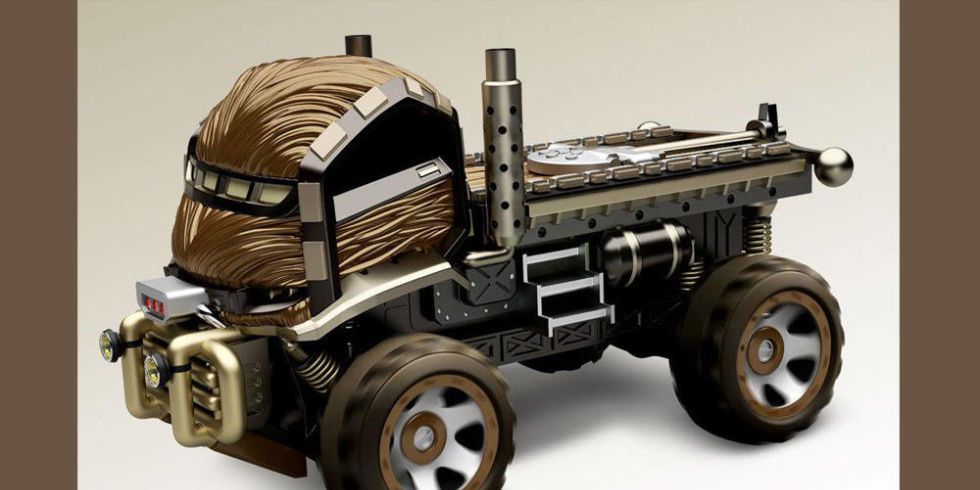 If Chewie were a Unimog: The Hot Wheels Star Wars cars