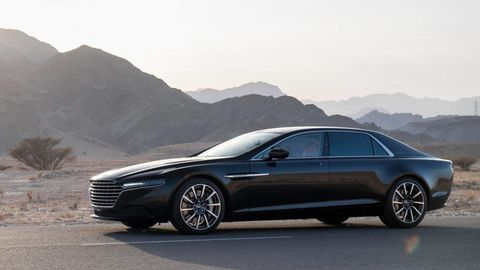 Torture testing doesn't look like torture in an Aston Martin Lagonda