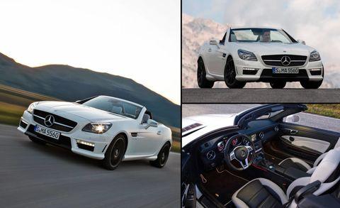 2012 Mercedes Benz Slk55 Amg Official First Photos And News
