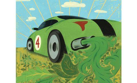 Automotive design, Green, Art, Paint, Vehicle door, Animation, Painting, Illustration, Artwork, Art paint,
