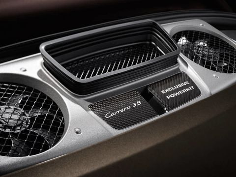 Powerkit Delivers More Boost for the 2013 Porsche 911 Carrera S