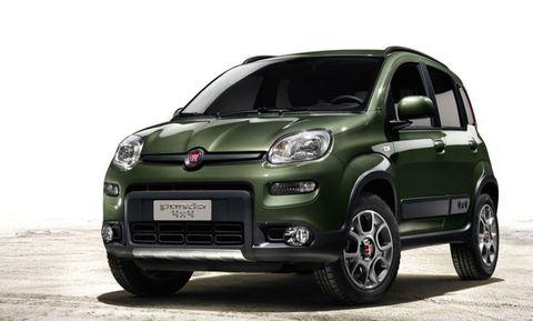First Look: 2013 Fiat Panda 4x4