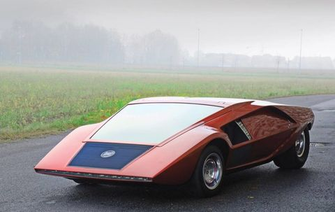 Bertone Concept Cars Being Auctioned