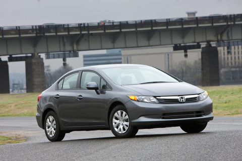 2012 honda civic plummets in consumer reports ratings. Black Bedroom Furniture Sets. Home Design Ideas