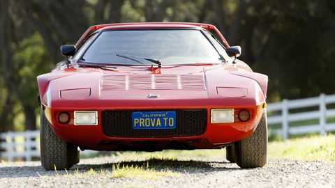 Mode of transport, Automotive design, Automotive exterior, Vehicle, Land vehicle, Performance car, Hood, Car, Red, Sports car,