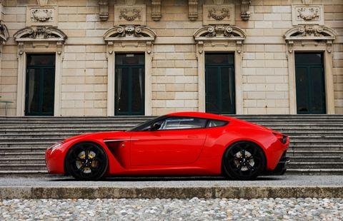 Aston Martin V Zagato Wins Concorso DEleganza Design Award At - Aston martin v12 zagato