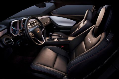 45th Anniversary Special Edition 2012 Chevrolet Camaro