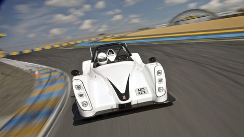 After the second spinout, this Radical SR3 is better than coffee