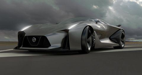 Nissan Concept 2020 Gran Turismo Vision