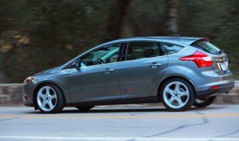 Driven 2012 Ford Focus 5 Door Hatchback Titanium