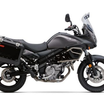 """<span style=""""font-size:11pt&#x3B;""""><strong>Base Price:</strong></span> $8499<br /><br />Two years ago <a href=""""http://www.popularmechanics.com/cars/motorcycles/the-10-best-buys-in-2012-motorcycles"""">we put the V-Strom 650 on our best-buy shopping list</a>, because in the world of adventure bikes, the smallest V-Strom was one of the most rewarding and beloved machines in Suzuki's stable. This year it makes the cut again because it remains a great bike at a nice price. And over the past couple of years, the price has gone up by only $200. <br /><br />The V-Strom is in many ways a poor man's BMW adventure bike. And this is one bike that can easily double as your daily ride as well as your weekend get-out-of-town toy. You sit tall on the V-Strom, in a riding position that's comfortable for long hauls but also lets you gaze far out in front, scanning for traffic. There's around 6 inches of wheel travel at each end of the V-Strom, so pothole pounding on the way to the office will be much smoother here than on any sportbike. Best of all, the V-Strom comes packing ABS, so a journey that finds you caught out in wet weather will be a lot safer.<br /><br />"""