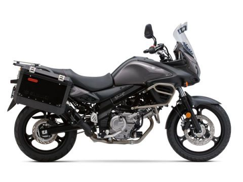 "<span style=""font-size:11pt;""><strong>Base Price:</strong></span> $8499 <br /><br /> Two years ago <a href=""http://www.popularmechanics.com/cars/motorcycles/the-10-best-buys-in-2012-motorcycles"">we put the V-Strom 650 on our best-buy shopping list</a>, because in the world of adventure bikes, the smallest V-Strom was one of the most rewarding and beloved machines in Suzuki's stable. This year it makes the cut again because it remains a great bike at a nice price. And over the past couple of years, the price has gone up by only $200.  <br /><br /> The V-Strom is in many ways a poor man's BMW adventure bike. And this is one bike that can easily double as your daily ride as well as your weekend get-out-of-town toy. You sit tall on the V-Strom, in a riding position that's comfortable for long hauls but also lets you gaze far out in front, scanning for traffic. There's around 6 inches of wheel travel at each end of the V-Strom, so pothole pounding on the way to the office will be much smoother here than on any sportbike. Best of all, the V-Strom comes packing ABS, so a journey that finds you caught out in wet weather will be a lot safer. <br /><br />"