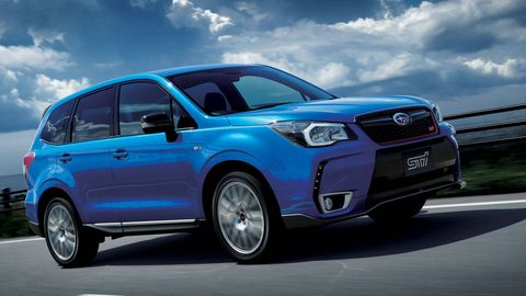 2015 Subaru Forester tS tuned by STI