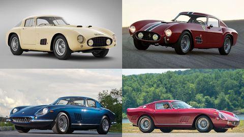Four Fantastic Ferraris – 2012 Monterey Auctions