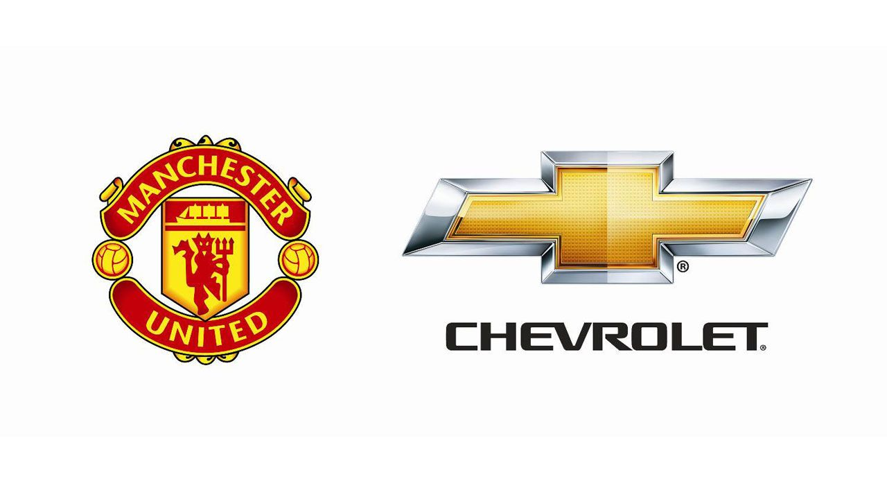 Chevy Signs SevenYear Deal with Manchester United