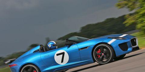 2013 Jaguar Project 7: First Drive