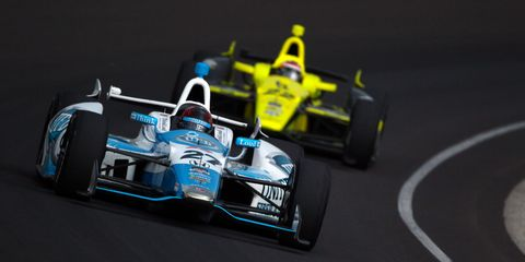2014 Indy 500 Monday-Tuesday practice