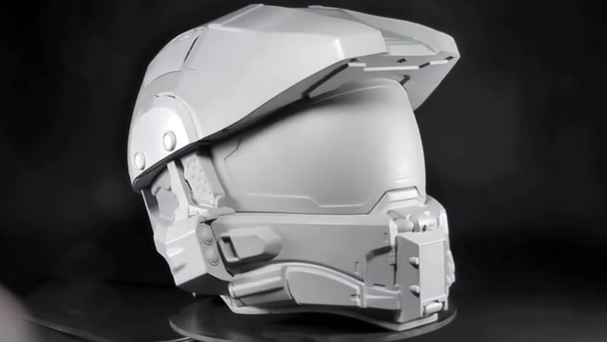 NECA is working on a Master Chief motorcycle helmet