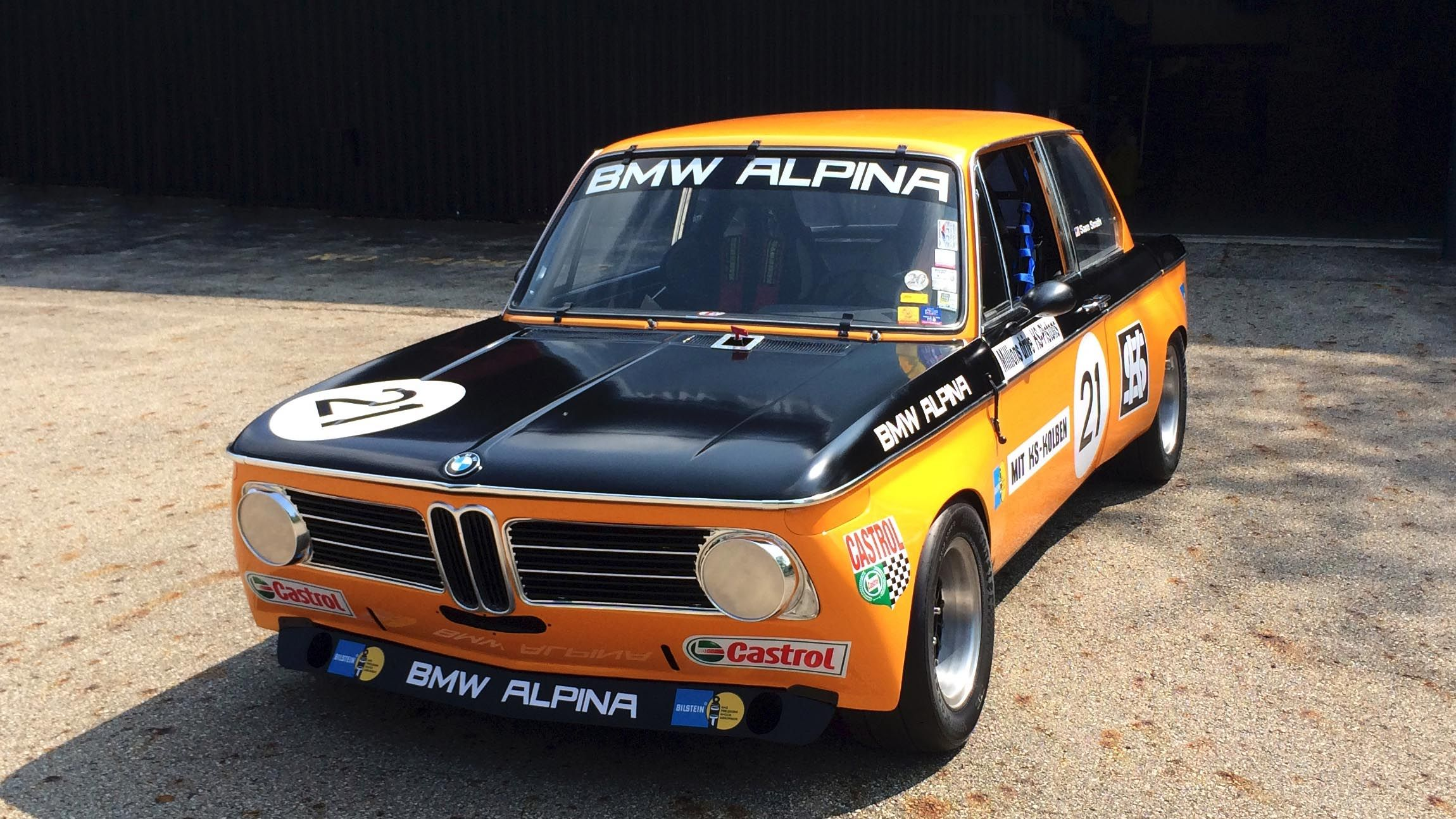 I M Racing This Restored Alpina 2002 In Monterey