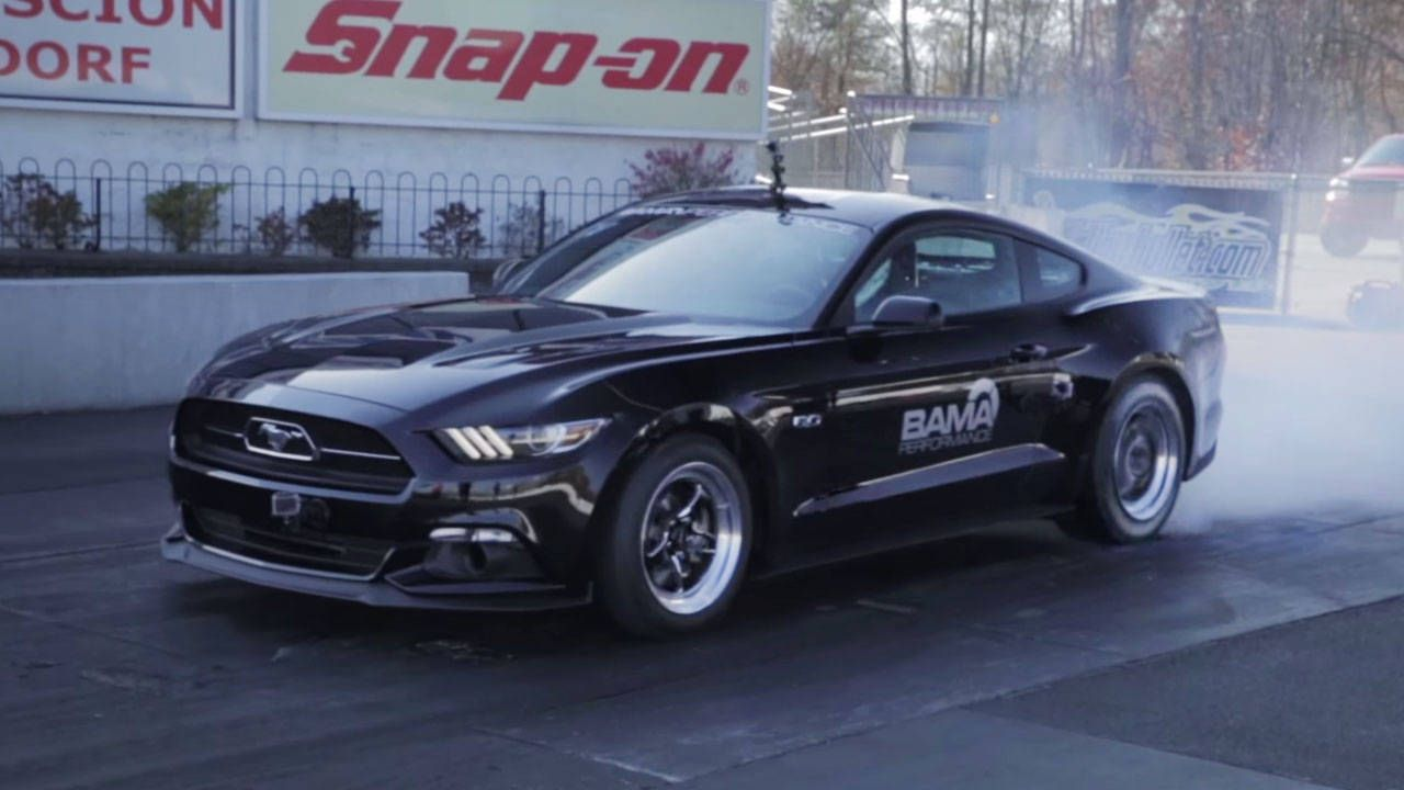 The first 9-second 2015 Mustang is a bottle-fed beast