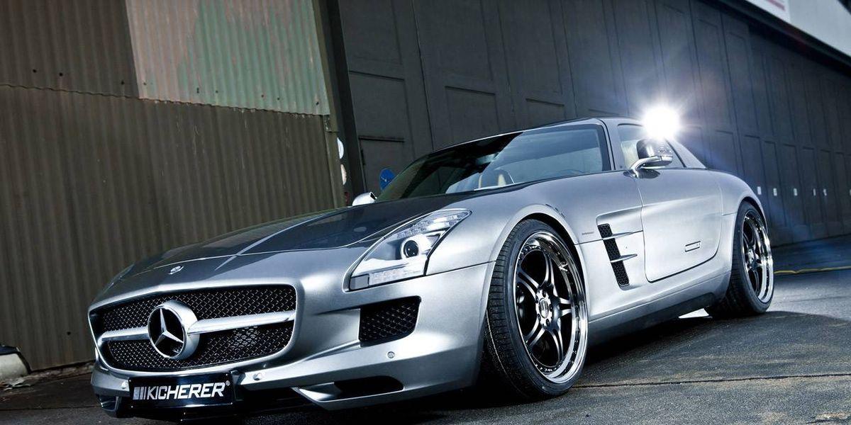 Car Auction Apps >> Kircherer SLS 63 AMG: Another Tuned Mercedes-Benz Gullwing Takes Flight