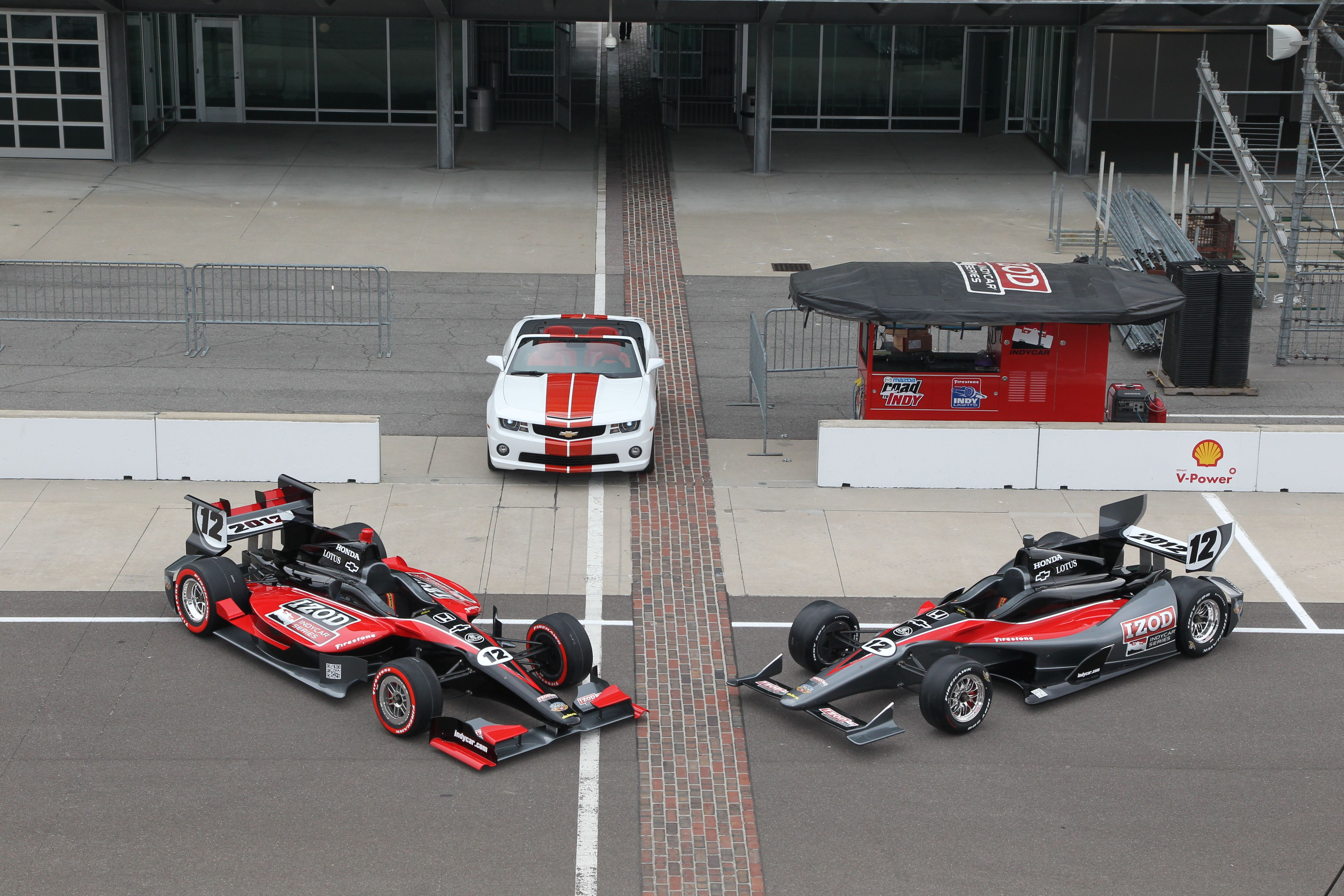 2012 Dallara IndyCar Revealed…Sort of
