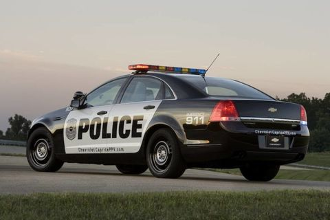 2017 Chevrolet Caprice Police Patrol Vehicle Ppv