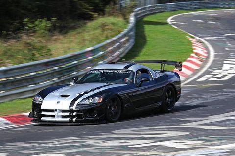 Dodge Viper Regains Nürburgring Record