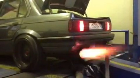 This terrifying E30 BMW is better than coffee