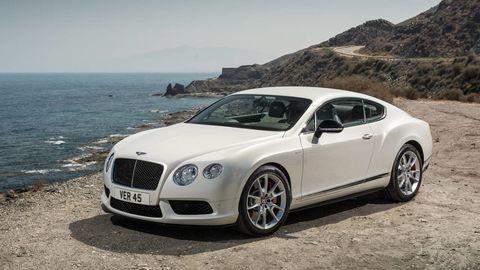 Vehicle, Rim, Grille, Coastal and oceanic landforms, Car, Bentley, Alloy wheel, Hood, Fender, Luxury vehicle,