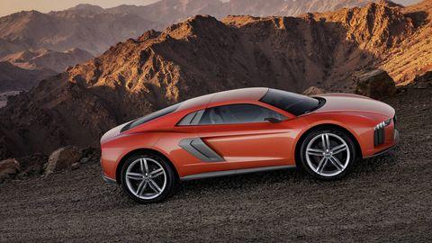 Tire, Mode of transport, Automotive design, Vehicle, Mountainous landforms, Land vehicle, Concept car, Rim, Automotive exterior, Car,