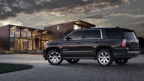 2015 Gmc Yukon Denali And Yukon Xl Images Of Gmc Full Size Suvs