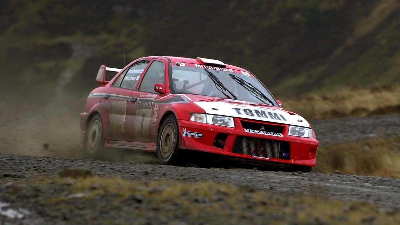Image result for lancer evo vi tommi rally