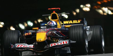 Star Wars takes over Red Bull F1 - 2005