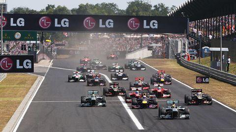 F1 Grand Prix of Hungary - Race