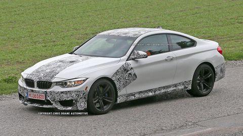Spy Shots: 2015 BMW M4