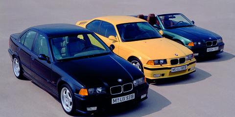 Photos: BMW E36 M3 Models
