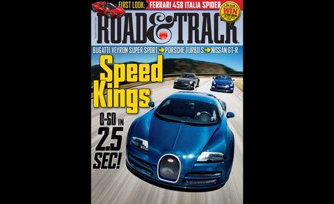 road  track november 2011 cover
